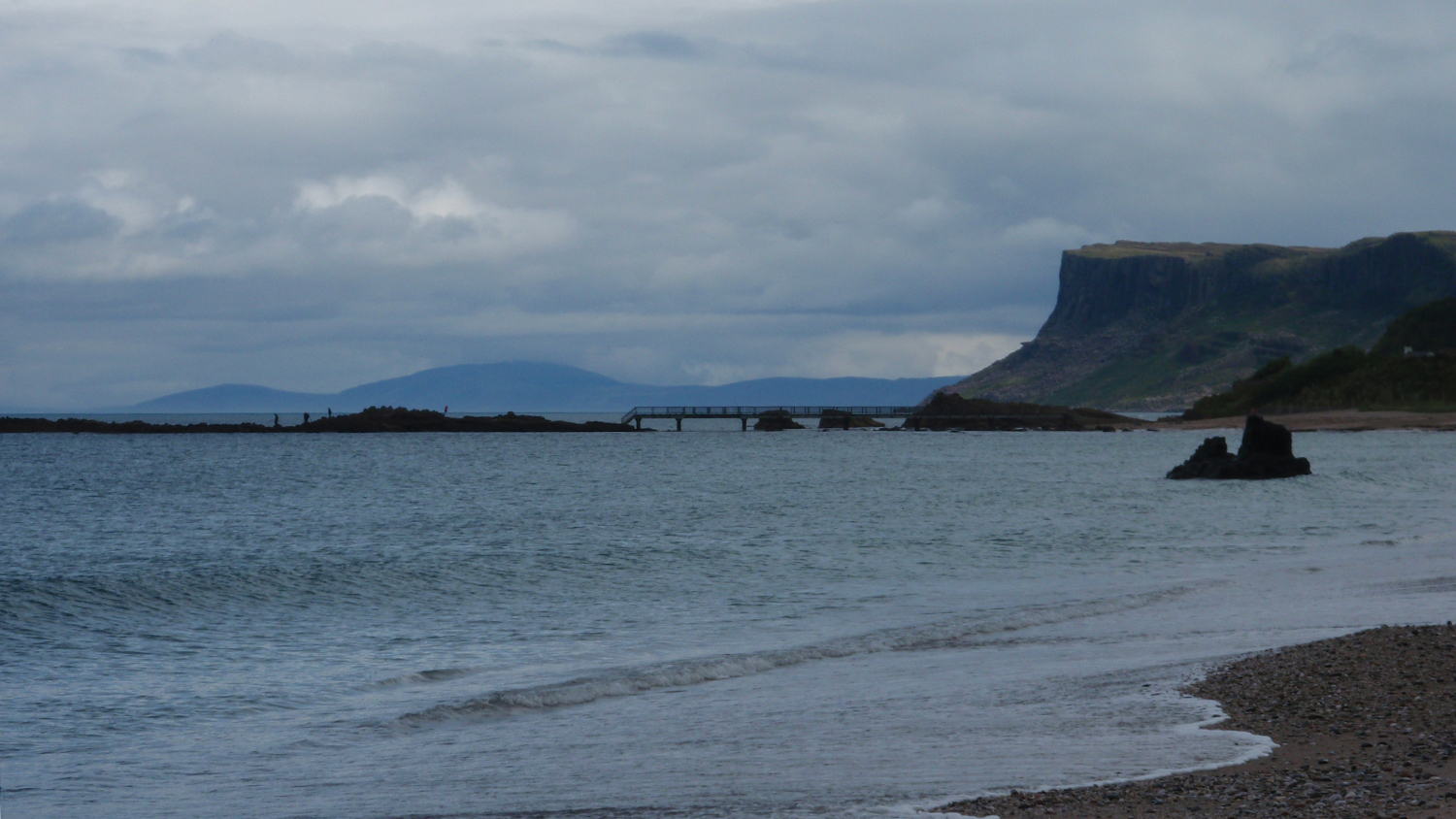 Ballycastle Beach in County Antrim