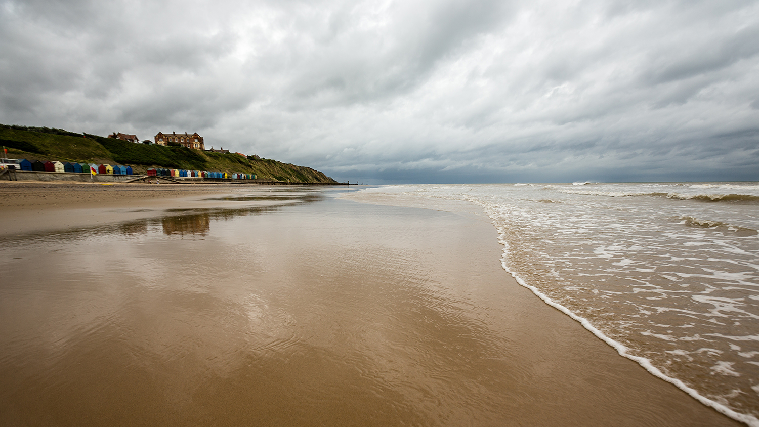 Mundesley Beach at Mundesley in Norfolk is an RNLI lifeguarded beach.