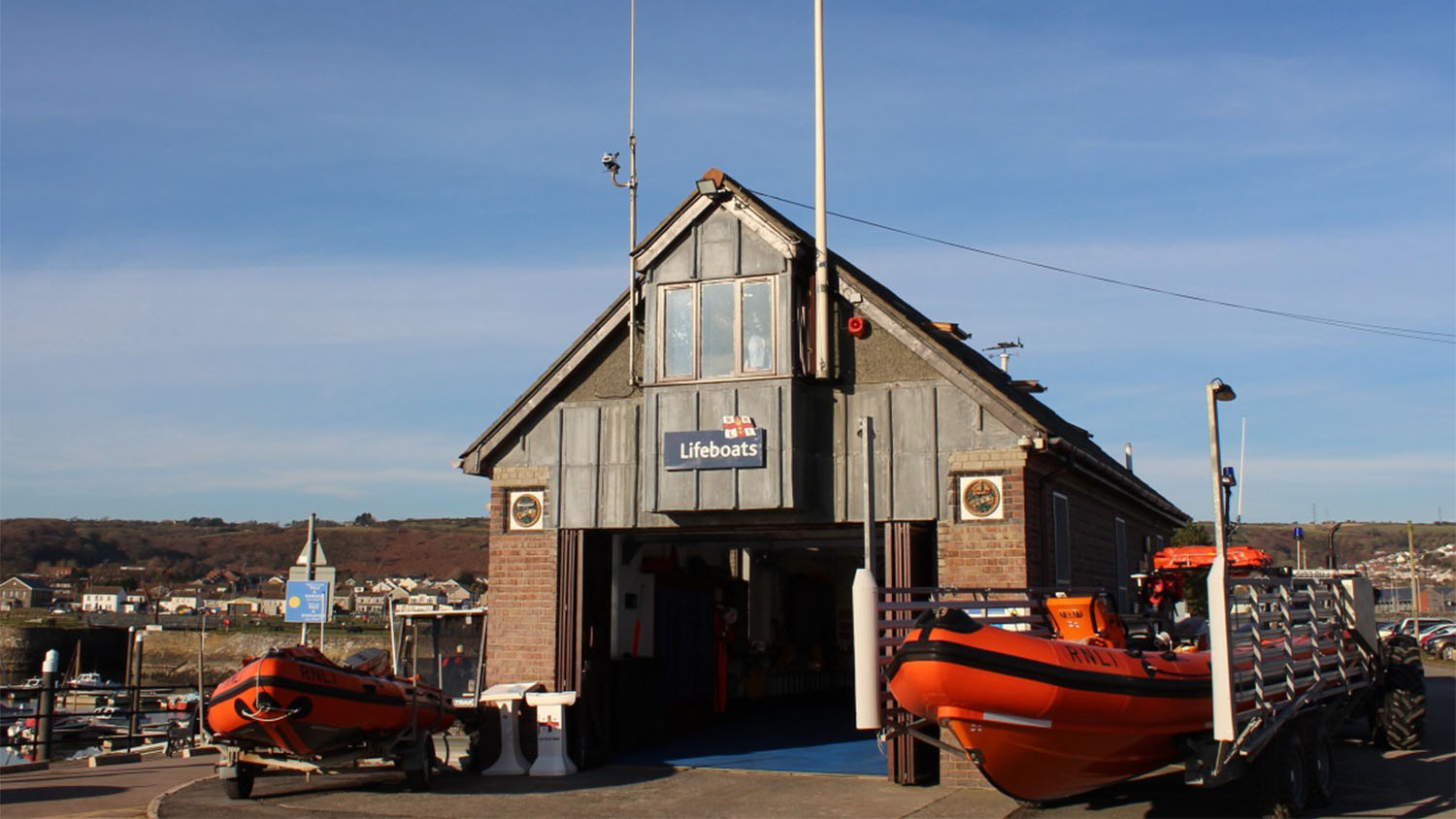 RNLI Burry Port Lifeboat Station