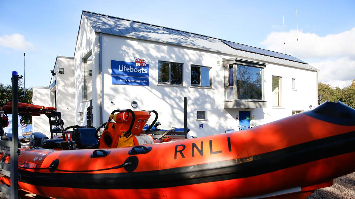 Carrybridge Lifeboat Station