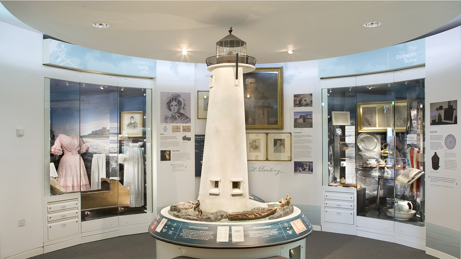 Inside the RNLI Grace Darling Museum