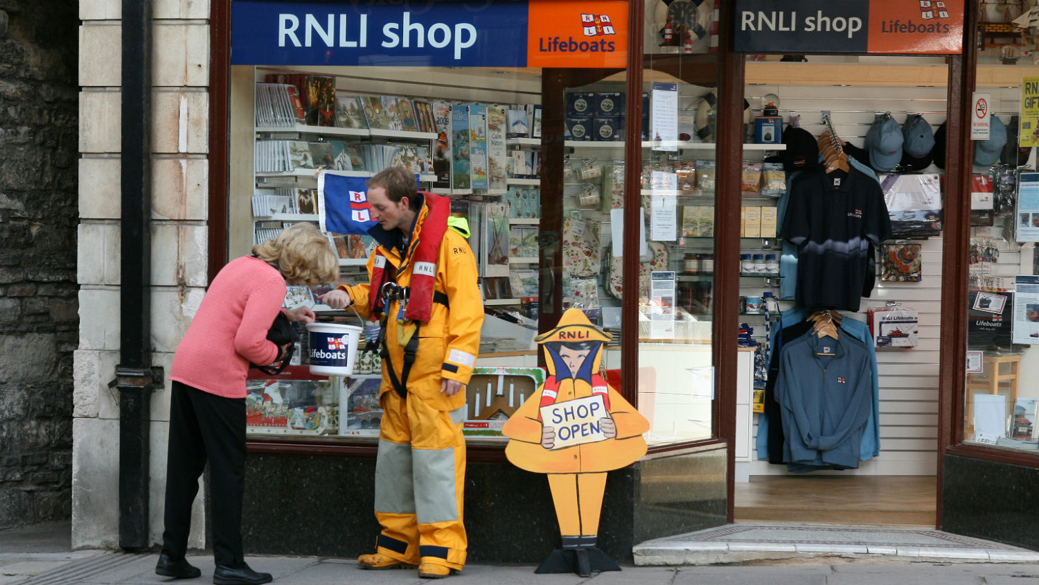 Buy RNLI gifts and souvenirs from our Swanage shop and help save lives at sea.