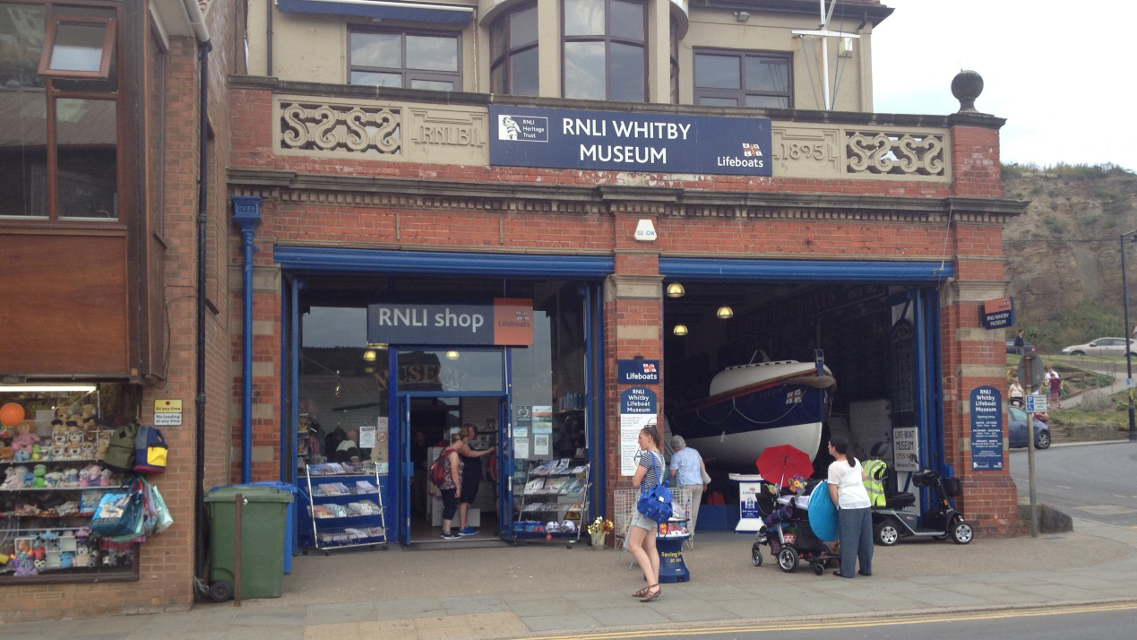 Buy RNLI gifts and souvenirs from our Whitby shop and help save lives at sea.