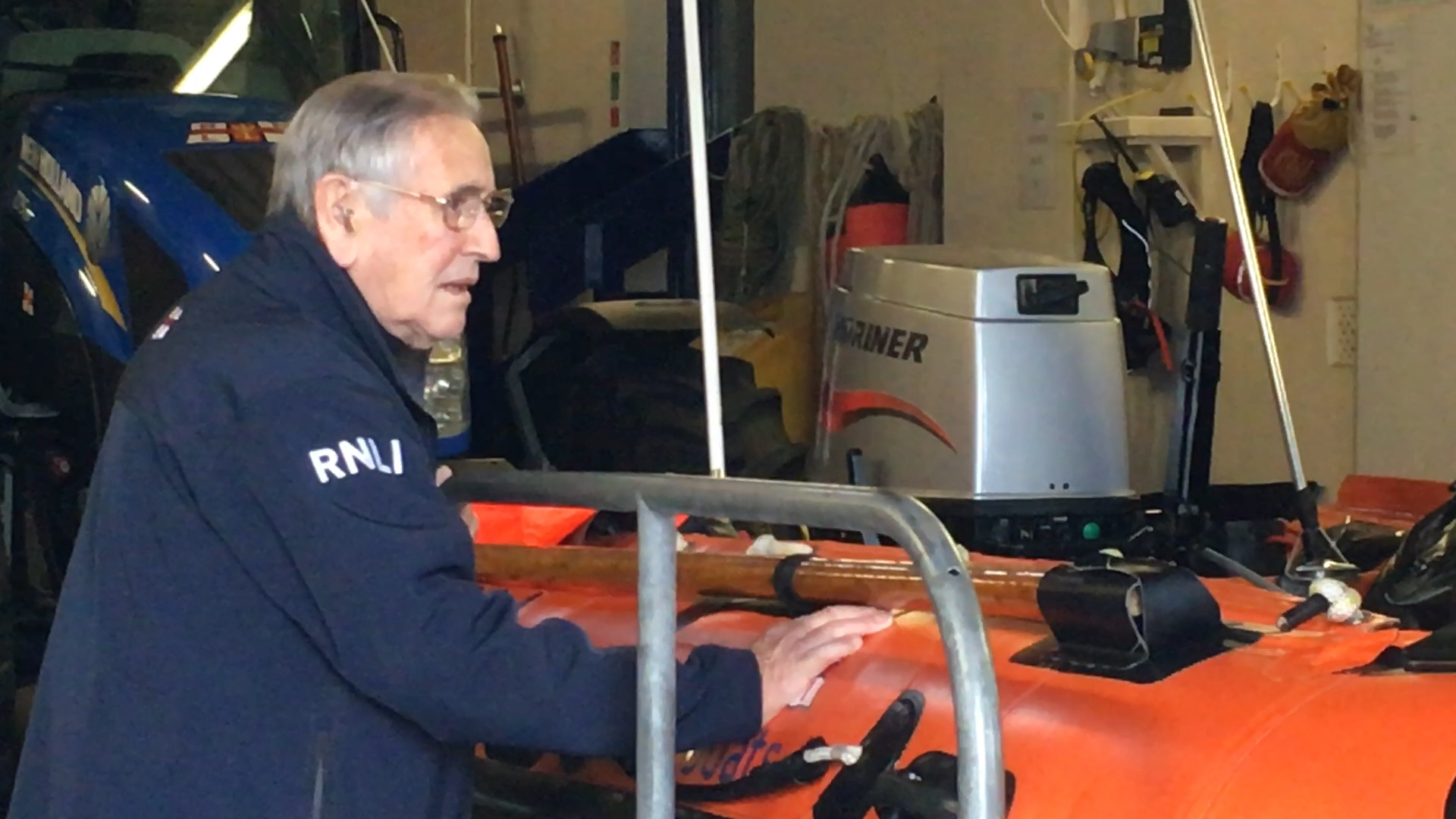 Interview with Cromer Lifeboat volunteer Ted Luckin