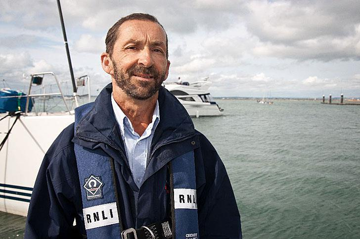 Mark Southwell, Lifeboat Operations Manager at Cowes Lifeboat Station