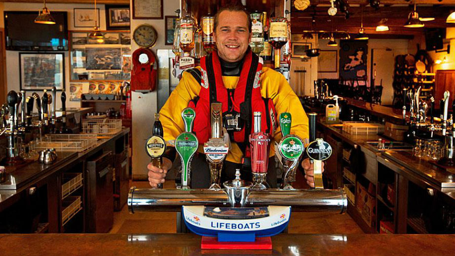 Raise a glass at these great lifeboat pubs
