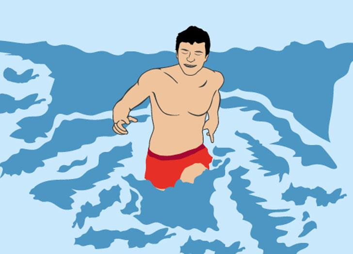 How to escape a rip current, how deep is the water