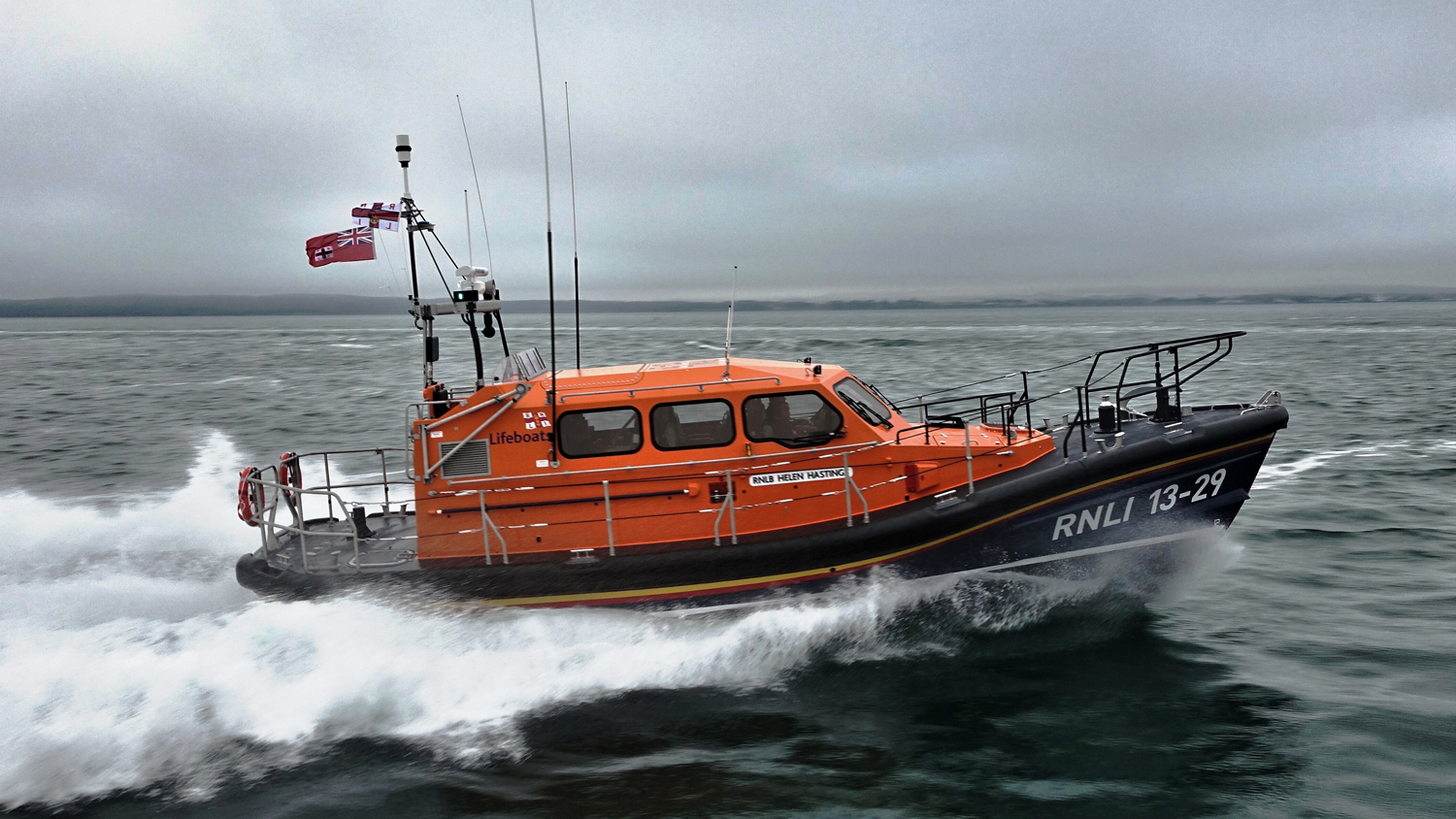 Eyemouth Shannon class lifeboat Helen Hastings 13-29