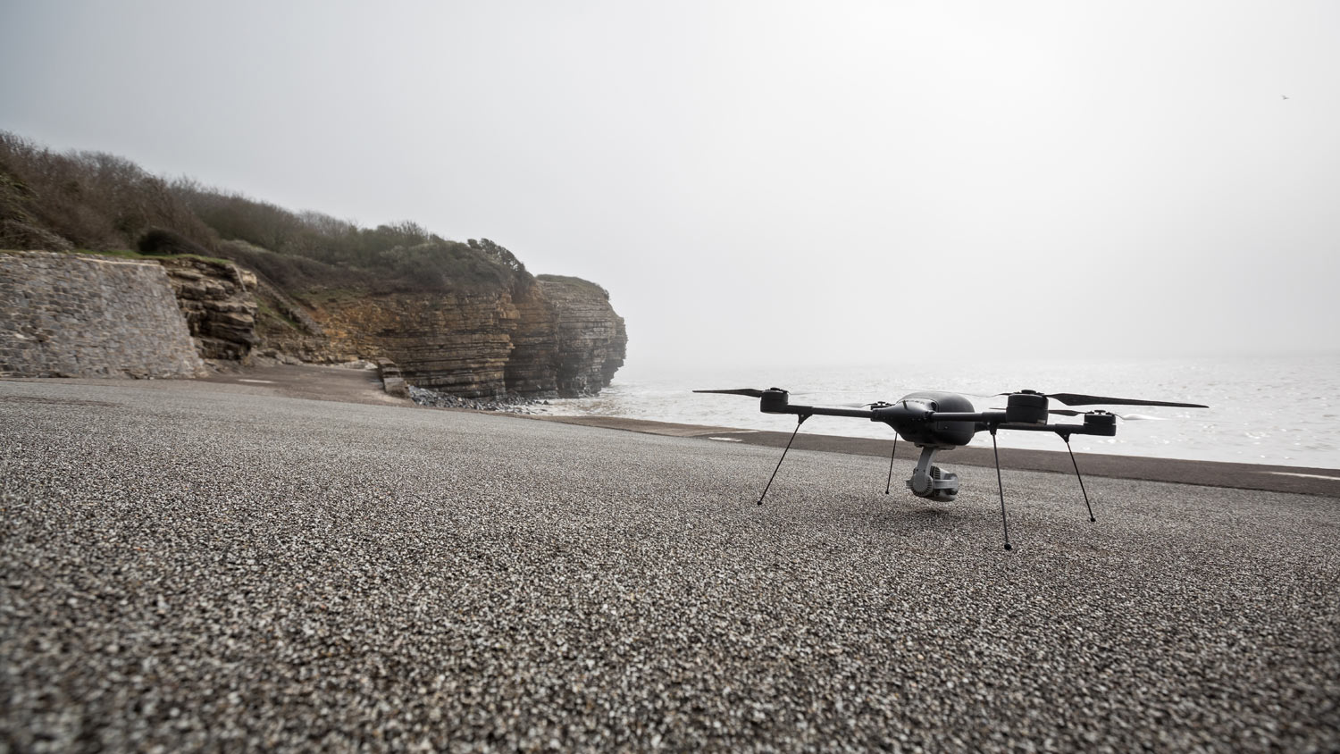 A drone is tested for SAR purposes