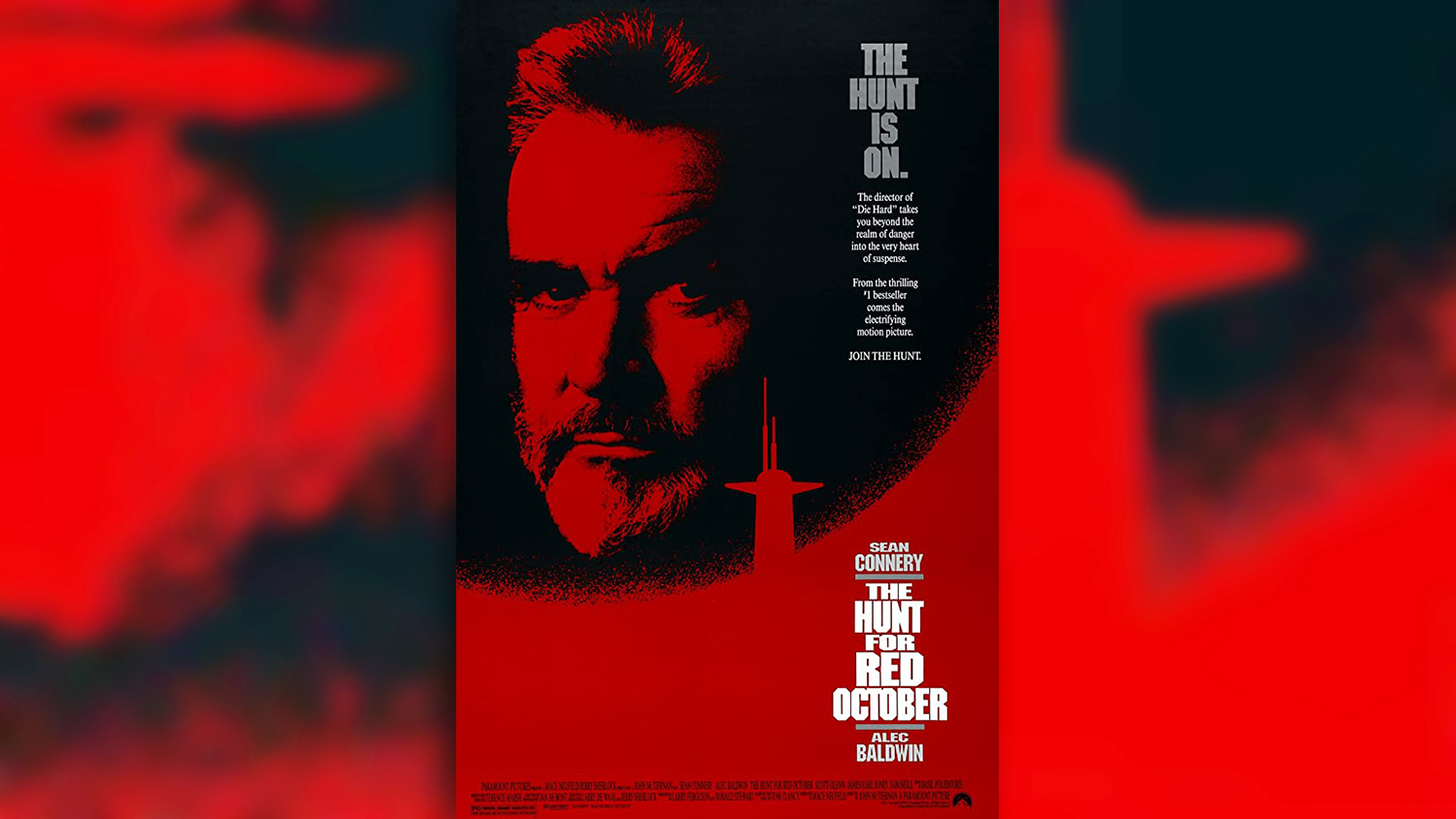 The Hunt For Red October film poster