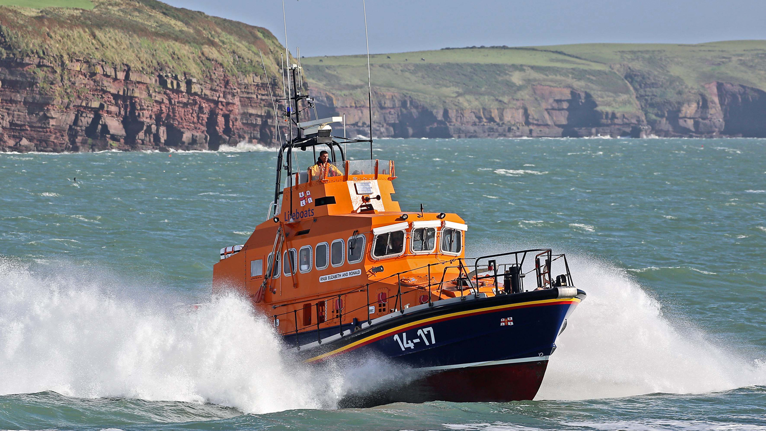 Dunmore East's Trent class lifeboat Elizabeth and Ronald