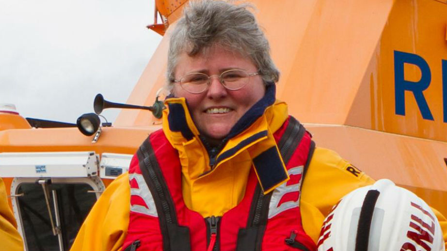Sam Jones, Tobermory Volunteer Crew Member and Lifeboat Press Officer