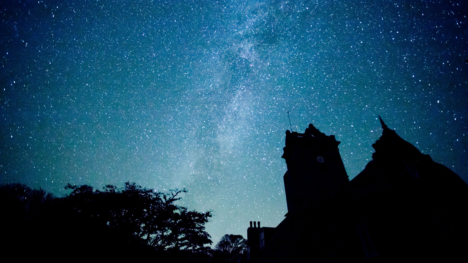 The Milky Way over La Seigneurie