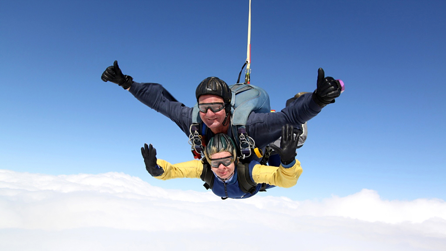 A skydive to raise money for the RNLI