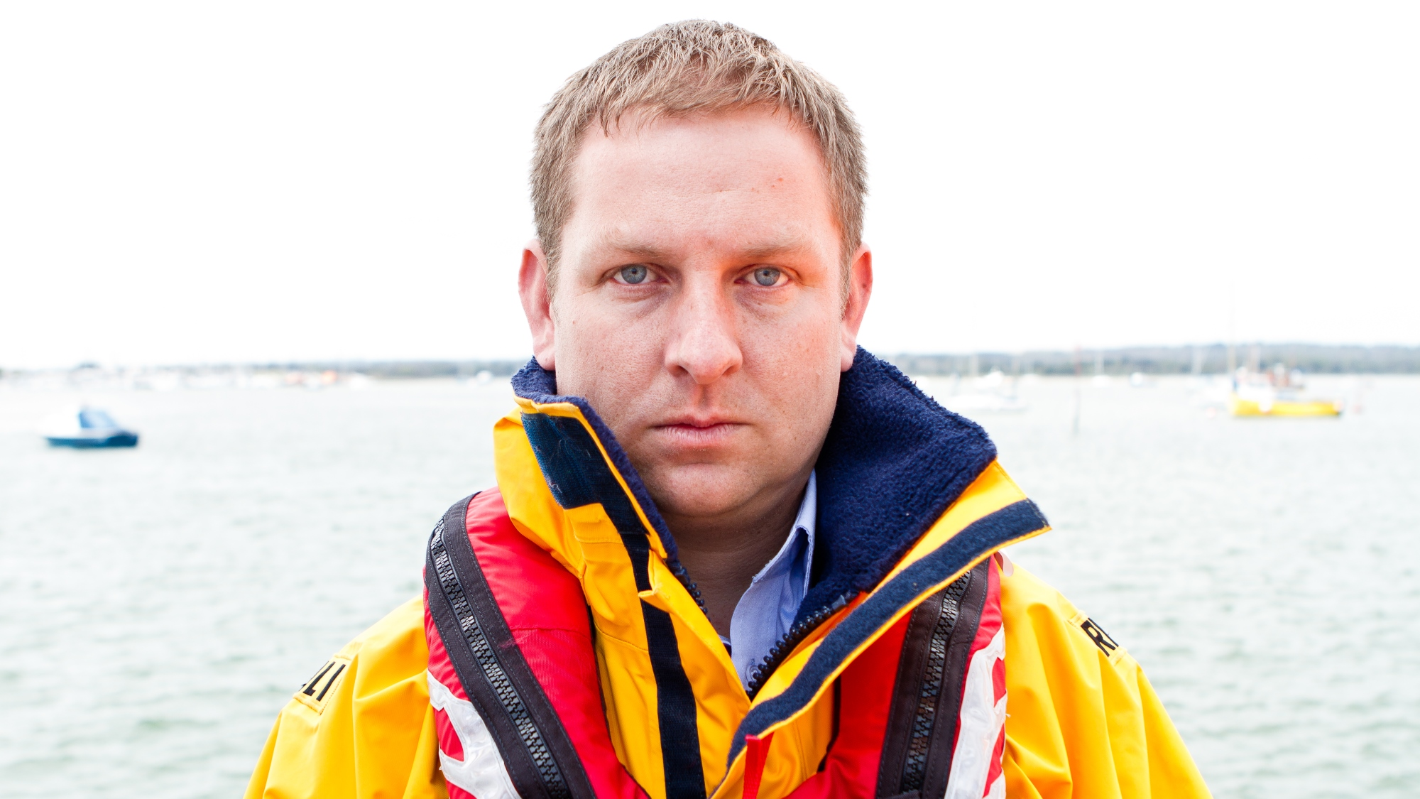 Helm Dave Riley, Poole RNLI