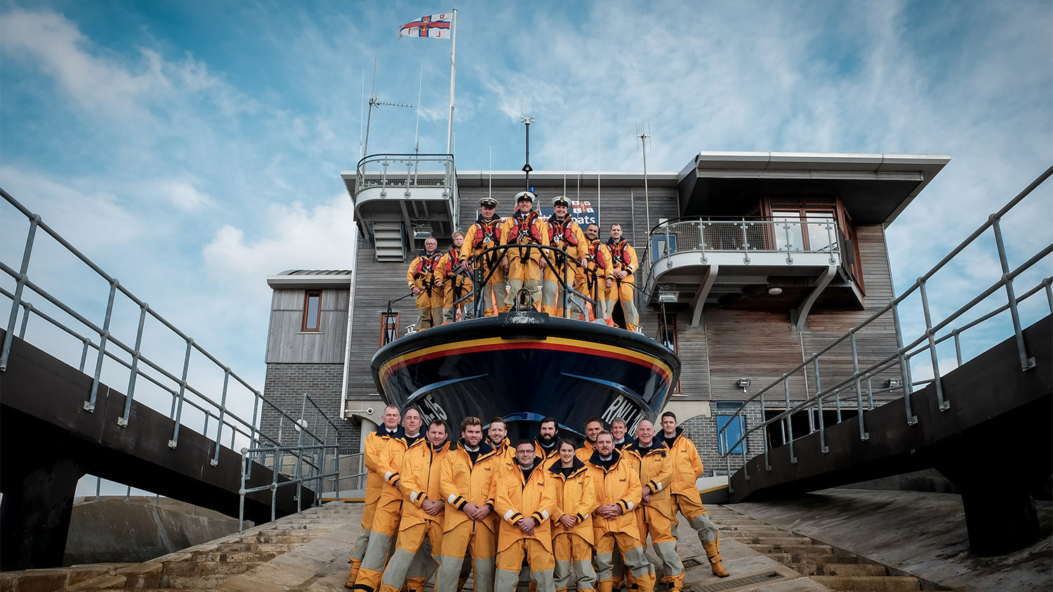 Shoreham lifeboat crew