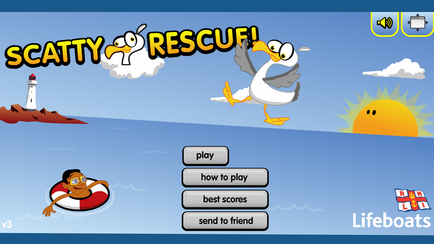 Scatty rescue online game