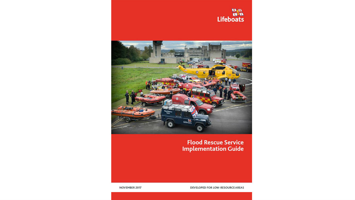 Flood Rescue Service Implementation manual cover