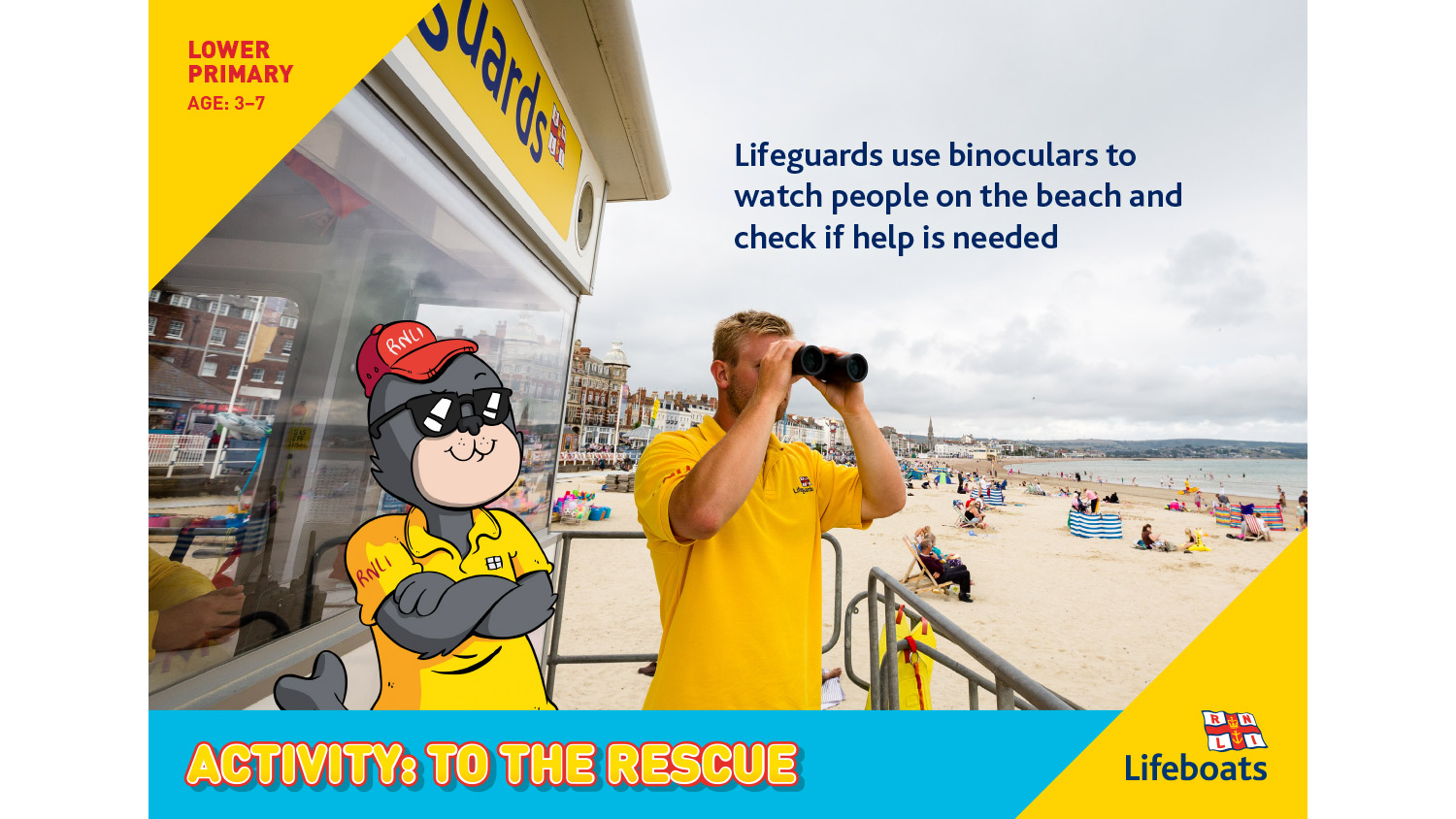 RNLI To The Rescue activity slides
