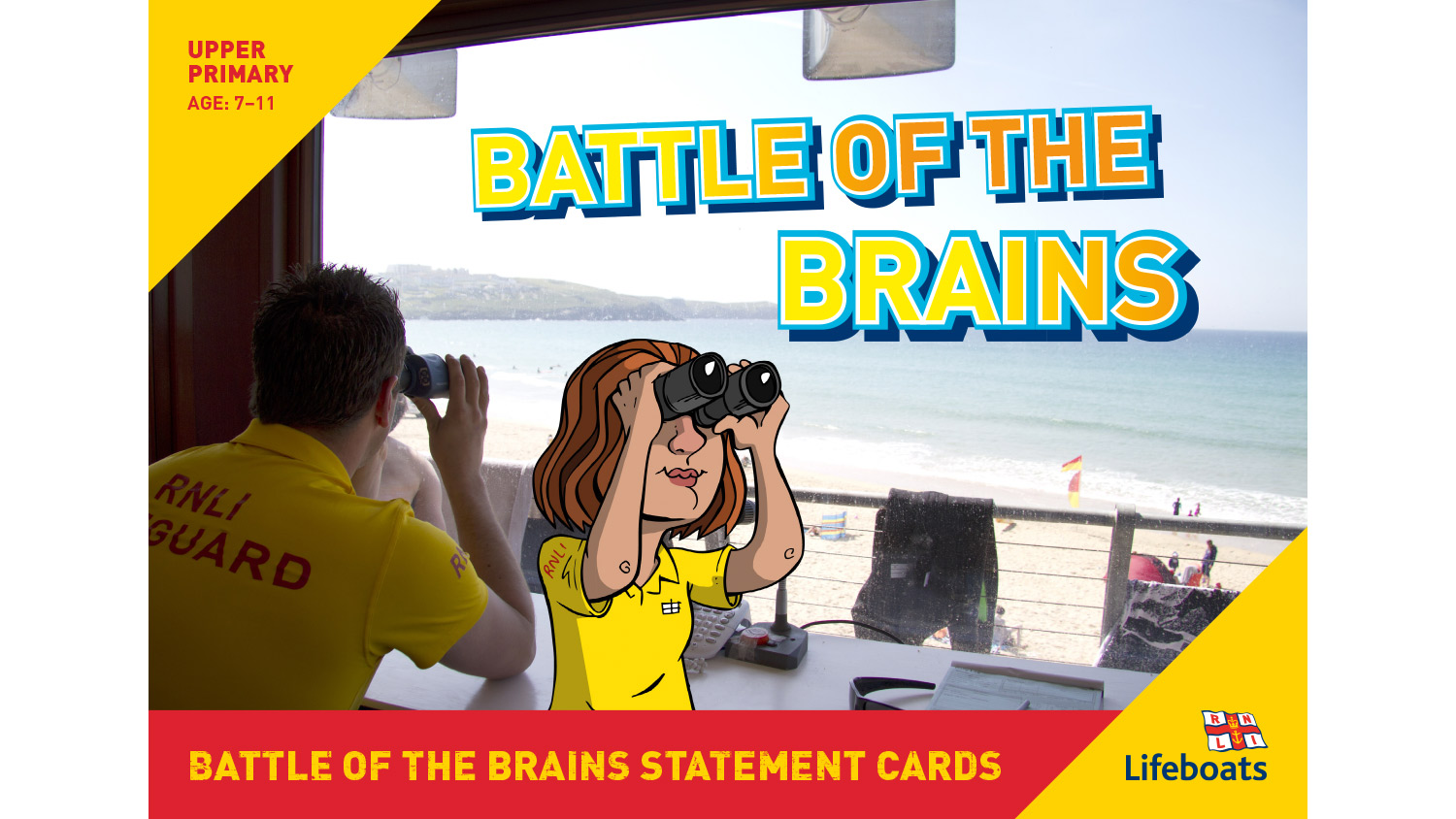 RNLI Battle Of The Brains activity slides