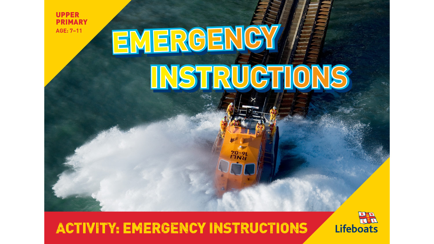 RNLI Emergency Instructions activity slides