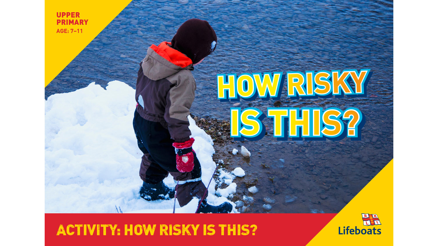 RNLI How Risky Is This activity slides